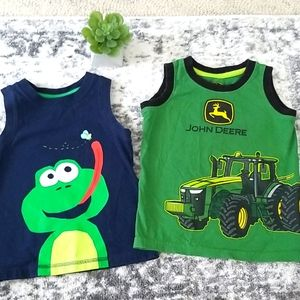 2t Tractor and frog top